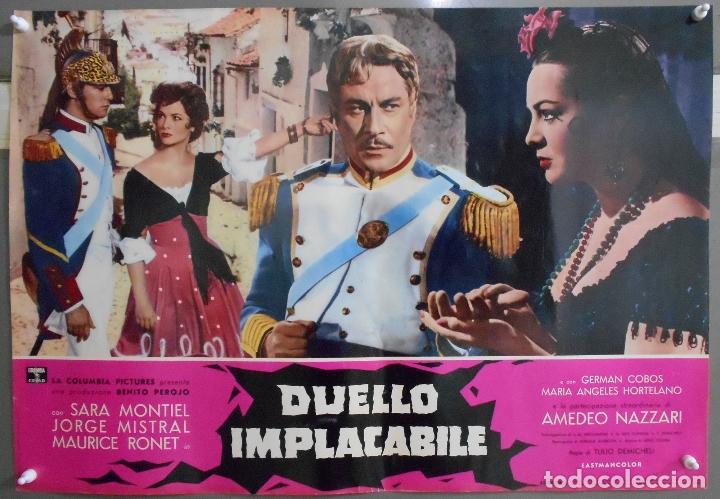 Cine: XX56 CARMEN LA DE RONDA SARA MONTIEL JORGE MISTRAL ESPECTACULAR SET 10 POSTERS orig ITALIANO 47X68 - Foto 10 - 97230851