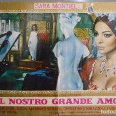Cine: XX60 LA MUJER PERDIDA SARA MONTIEL INMA DE SANTIS POSTER ITALIANO 47X68. Lote 97234059