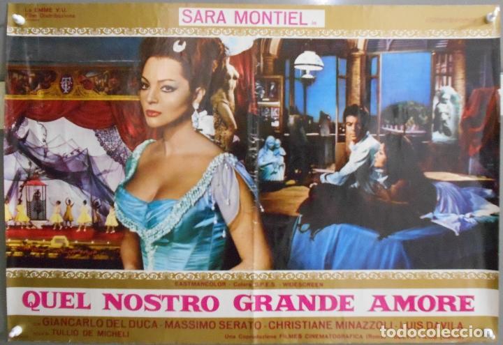 XX61 LA MUJER PERDIDA SARA MONTIEL INMA DE SANTIS POSTER ITALIANO 47X68 (Cine - Posters y Carteles - Clasico Español)