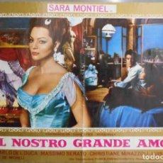 Cine: XX61 LA MUJER PERDIDA SARA MONTIEL INMA DE SANTIS POSTER ITALIANO 47X68. Lote 97234351