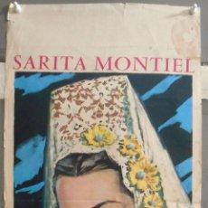 Cine: XX66 EL ULTIMO CUPLE SARA MONTIEL POSTER ORIGINAL ITALIANO 33X70. Lote 97237835
