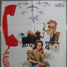 Cine: XY26 TELEFONO ROJO DR STRANGELOVE STANLEY KUBRICK PETER SELLERS POSTER ORIGINAL 70X100 ESTRENO. Lote 97301547