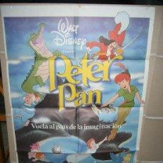 Cine: PETER PAN WALT DISNEY POSTER ORIGINAL 70X100. Lote 97386007