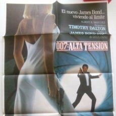 Cine: POSTER 007 JAMES BOND ALTA TENSION. Lote 98006403