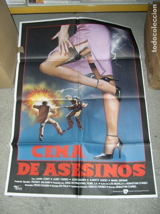 POSTER CENA DE ASESINOS (Cine - Posters y Carteles - Suspense)