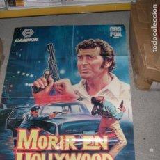 Cine: POSTER MORIR EN HOLLYWOOD. Lote 98032119