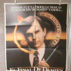 Cine: CARTEL CINE ORIG EL FINAL DE DAMIEN (1981) 70X100 /. Lote 194728480