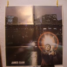 Cine: CARTEL CINE ORIG LADRON (1981) 70X100 / JAMES CAAN. Lote 98245071