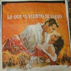 Cine: LO QUE EL VIENTO SE LLEVO CON GART GABLE. Lote 98350571