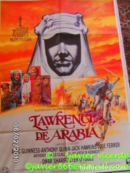 LAURENCE DE ARABIA PÓSTER DE CINE O CARTEL DE 70X100 (Cine - Posters y Carteles - Aventura)