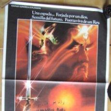 Cine: CARTEL ORIGINAL DEL ESTRENO DE : EXCALIBUR. 1981. Lote 98395727