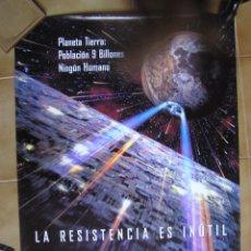 Cine: CARTEL ORIGINAL DEL ESTRENO DE : STAR TREK PRIMER CONTACTO.. Lote 98396419