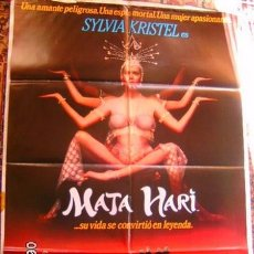 Cine: MATA HARY CARTEL ORIGINAL. Lote 98396555