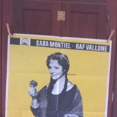 Cine: POSTER LA VIOLETERA SARA MONTIEL. Lote 98423279
