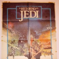 Cine: 1984 INCINE ESPAÑA POSTER EL RETORNO DEL JEDI. Lote 31851863