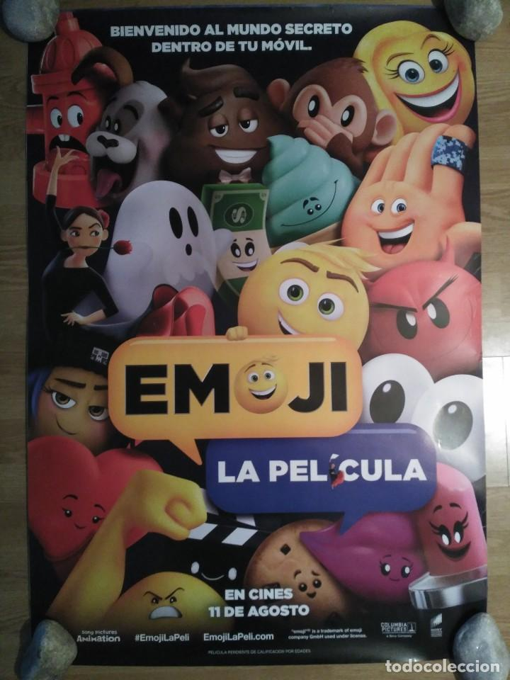 EMOJI - APROX 70X100 CARTEL ORIGINAL CINE (L49) (Cine - Posters y Carteles - Infantil)