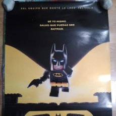 Cine: BATMAN, LA LEGO PELICULA - APROX 70X100 CARTEL ORIGINAL CINE (L49). Lote 98563323
