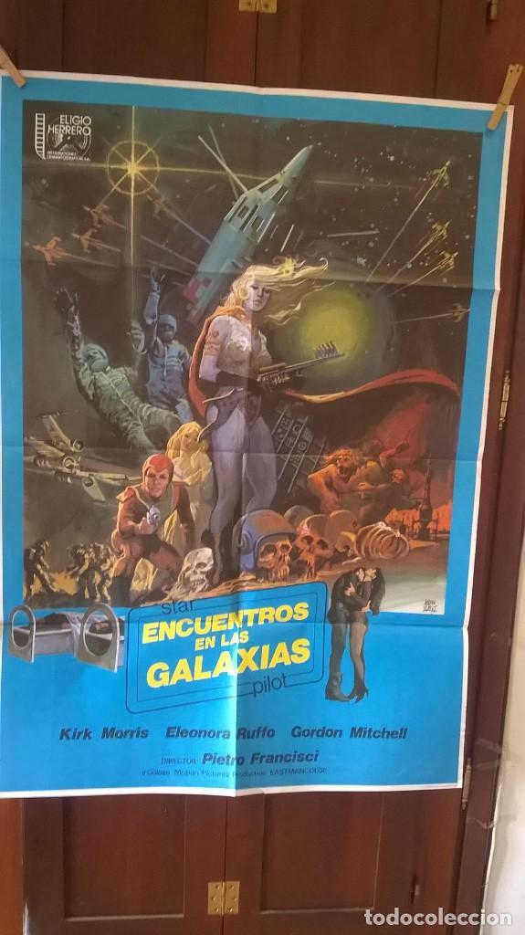 POSTER ENCUENTROS EN LAS GALAXIAS (Cine - Posters y Carteles - Ciencia Ficción)