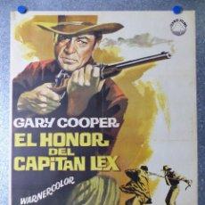 Cine: EL HONOR DEL CAPITAN LEX, GARY COOPER - AÑO 1966. Lote 98575495