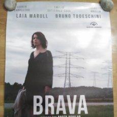 Cine: BRAVA - APROX 70X100 CARTEL ORIGINAL CINE (L49). Lote 98622931
