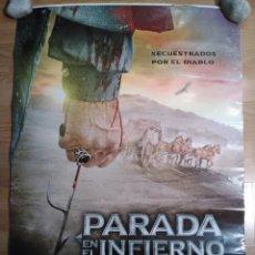 Cine: PARADA EN EL INFIERNO - APROX 70X100 CARTEL ORIGINAL CINE (L49). Lote 98688955
