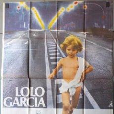 Cine: (N199) TOBI, LOLO GARCIA, CARTEL DE CINE ORIGINAL 100X70 CM APROX. Lote 98706935