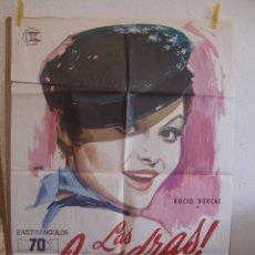 Cine: CARTEL CINE ORIG LAS LEANDRAS (1969) 70X100 / ROCIO DURCAL / JANO. Lote 98856847