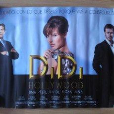 Cine: DIDI EN HOLLYWOOD - APROX 50X70 MINICARTEL ORIGINAL CINE (M1). Lote 98887655