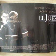 Cine: EL JUEZ - APROX 50X70 MINICARTEL ORIGINAL CINE (M1). Lote 98888427