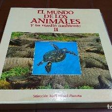 Cine: LÁSER DISC, EL MUNDO DE LOS ANIMALES, NATIONAL GEOGRAPHIC. Lote 99080423