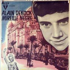 Cine: MONTECARLO PALACE HOTEL. ALAIN DEKOCK. CARTEL ORIGINAL 1963. 70X100. Lote 99243707