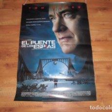 Cinéma: EL PUENTE DE LOS ESPIAS. POSTER O CARTEL ORIGINAL DE LA PELICULA. MUY BUEN ESTADO.. Lote 117510755
