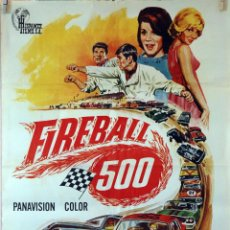 Cine: FIREBALL 500. WILLIAM ASHER. CARTEL ORIGINAL 1967. 70X100. Lote 99245119