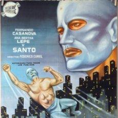 Cine: EL REY DEL CRIMEN. CARTEL ORIGINAL 1964. 70X100. Lote 99245531