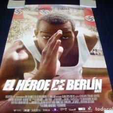 Cine: EL HEROE DE BERLIN. POSTER O CARTEL ORIGINAL DE LA PELICULA. BUEN ESTADO.. Lote 99249087