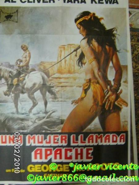 UNA MUJER LLAMADA APACHE (Cine - Posters y Carteles - Aventura)