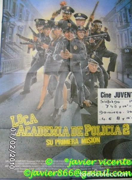 CARTEL ORIGINAL LOCA ACADEMIA POLICIA 2 (Cine - Posters y Carteles - Aventura)