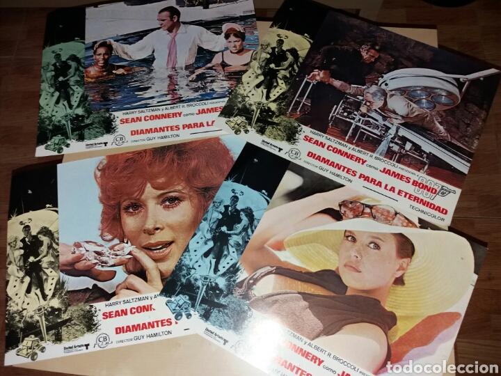 Cine: 9 Antiguos fotogramas, JAMES BOND 007 - DIAMANTES PARA LA ETERNIDAD - SEAN CONNERY - Foto 2 - 99908924