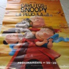 Cine: PÓSTER ORIGINAL CARLITOS Y SNOOPY. Lote 100083099