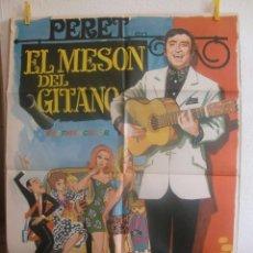 Cine: CARTEL CINE ORIG EL MESON DEL GITANO (1969) 70X100 / PERET / JANO. Lote 100100451