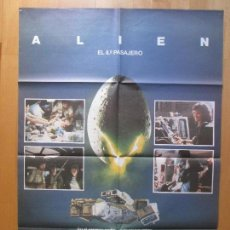Cine: CARTEL CINE, ALIEN EL 8º PASAJERO, SIGOURNEY WEAVER, 1979, C797. Lote 109561682