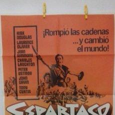 Cine: ESPARTACO CARTELES ORIGINAL 70X100 1981 IMPRIME G.JOMAGAR, MÓSTOLES MADRID. Lote 100144259