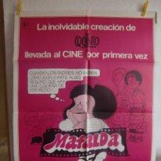 Cine: CARTEL CINE ORIG MAFALDA (1983) 70X100 / QUINO. Lote 100164651