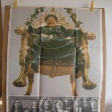 Cine: CARTEL CINE ORIG MAMA CUMPLE 100 AÑOS 70X100 / GERALDINE CHAPLIN / AMPARO MUÑOZ. Lote 100168191