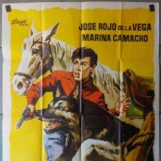 Cine: (N263) EL CHICO VALIENTE, JOSE ROJO DE LA VEGA,MARINA CAMACHO,JANO, CARTEL DE CINE ORIGINAL 100X70 C. Lote 197173830