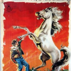 Cine: EL POTRO SALVAJE. RAFAEL BALEDON. CARTEL ORIGINAL 1961. 70X100. Lote 100354283