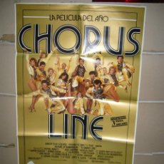 Cine: CHORUS LINE MICHAEL DOUGLAS RICHARD ATTENBOROUGH POSTER ORIGINAL 70X100 YY( 1676). Lote 100729519