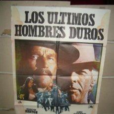 Kino - LOS ULTIMOS HOMBRES DUROS CHARLTON HESTON JAMES COBURN POSTER ORIGINAL 70X100 YY(1687) - 100741063