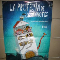 Cine: LA PROFECIA DE LES GRANOTES POSTER ORIGINAL 70X100 YY(1692) EN CATALAN. Lote 100741871
