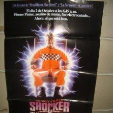 Cine: SHOCKER POSTER ORIGINAL 70X100 YY(2078). Lote 165538050